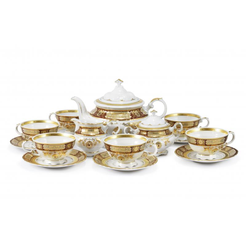 Tea set 15-piece - Magic brooch