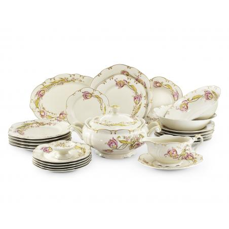 Dinner set 25-piece Tulips
