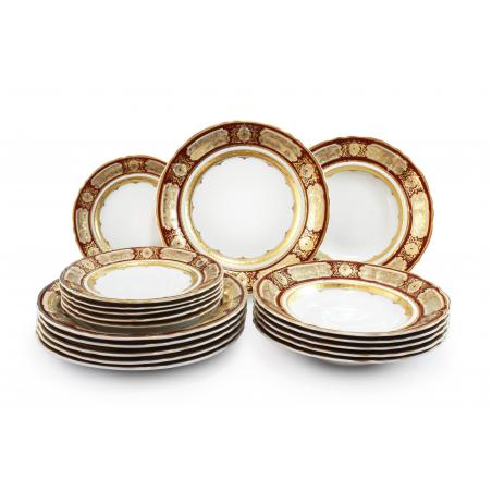 Plate set 18-piece - Magic...