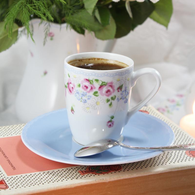 Šálek s podšálkem 0,09 l - espresso RoseLine