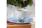Tasse mit Untertasse 0,07l - Espresso RoseLine