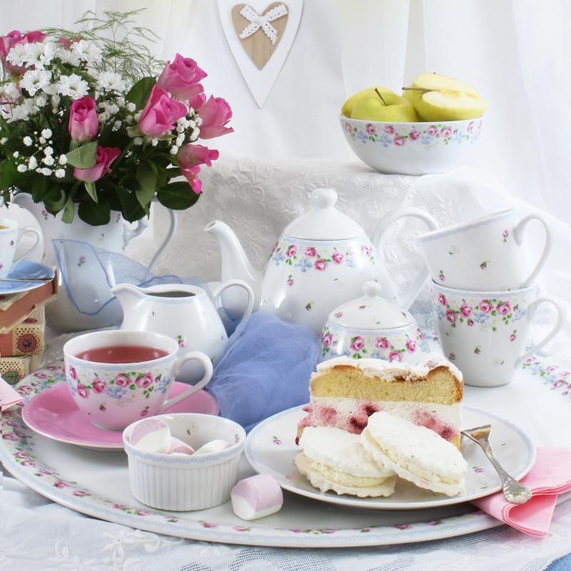 Tea set 11-piece RoseLine