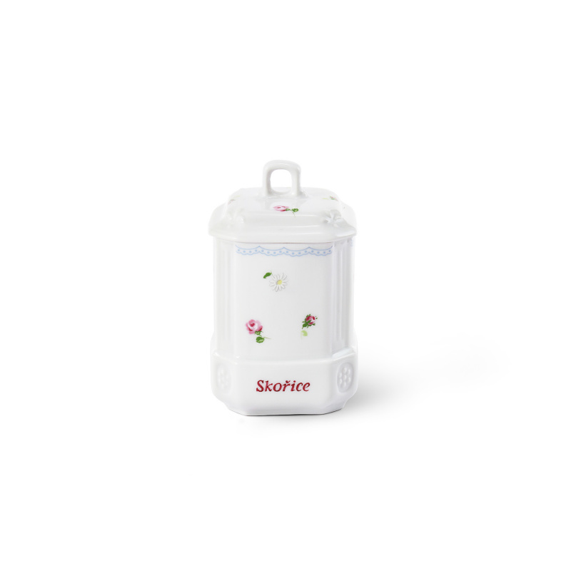 Spice jar with a lid 11 cm RoseLine