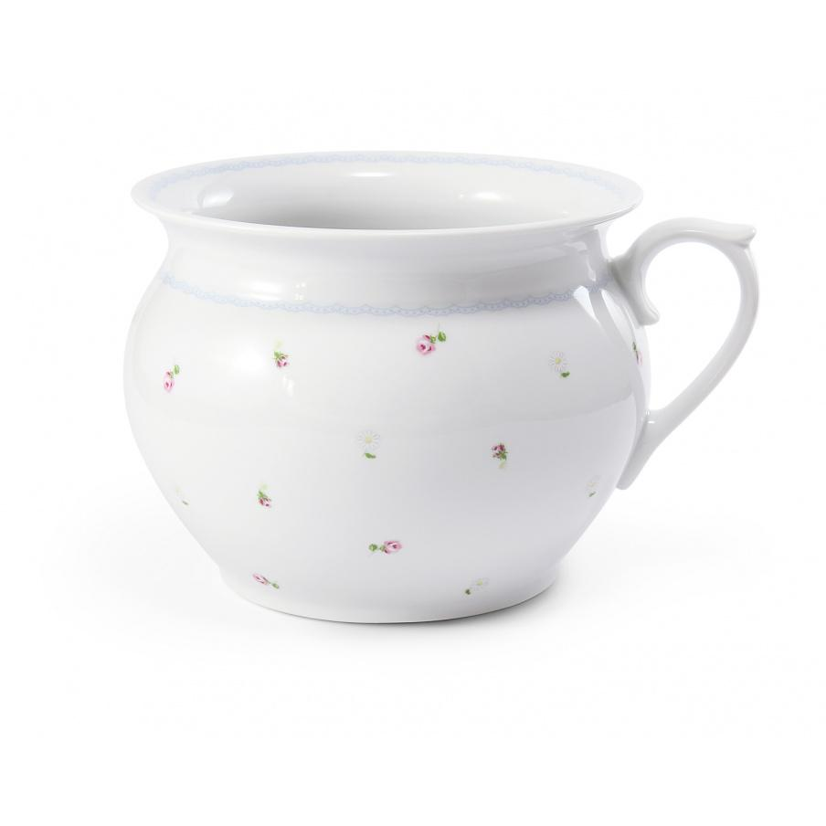 Night pot 19,5 cm with a...