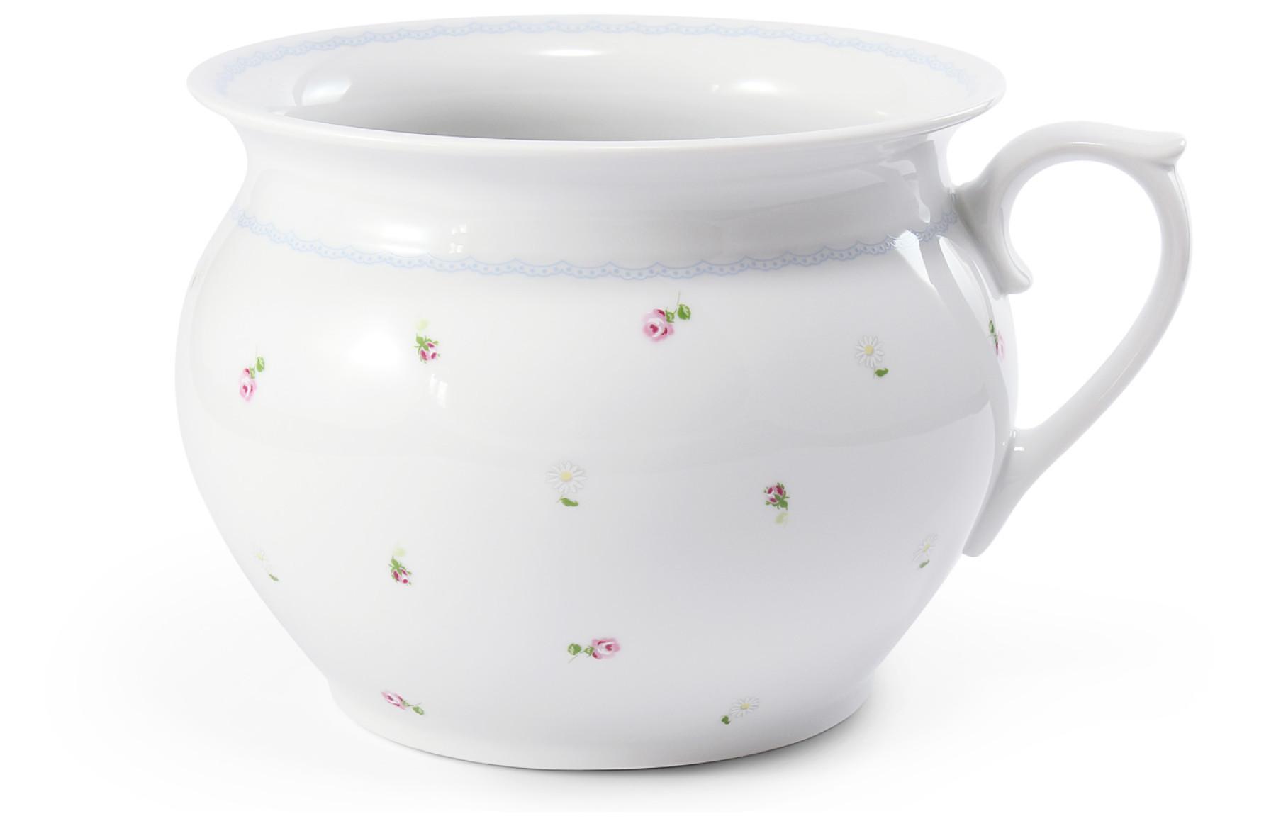 Noční váza 19,5 cm s uchem RoseLine