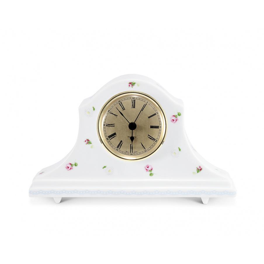 Clock on a foot 18 cm RoseLine