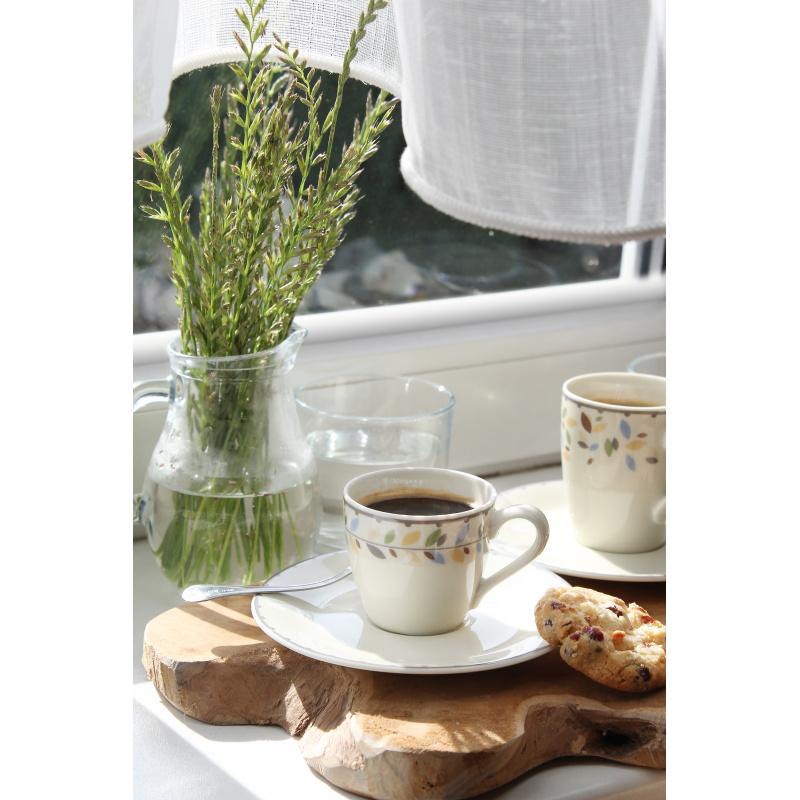 Tasse mit Untertasse 0,07 l-espresso NatureLine