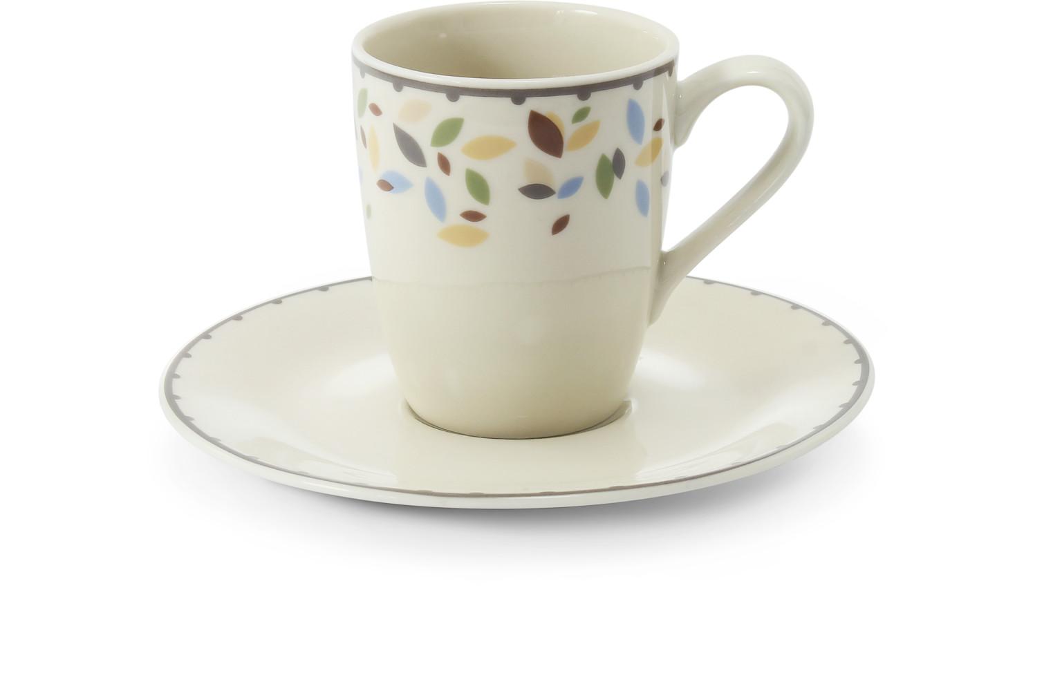 Tasse mit Untertasse 0,09 l-espresso NatureLine