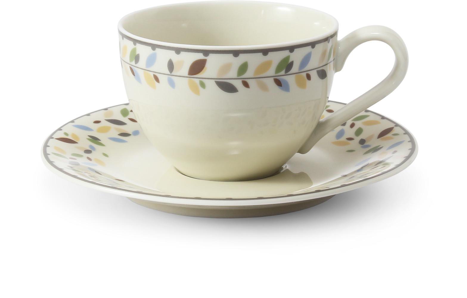 Cup and saucer 0.20 l NatureLine var.1