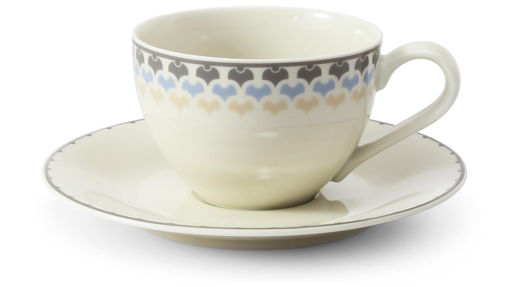 Cup and saucer 0.20 l NatureLine var.2