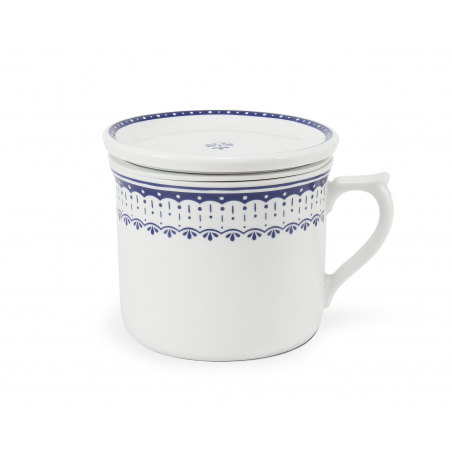 Mug 0.70 l with a lid and a...