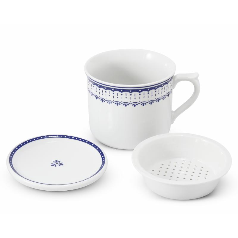 Teetasse 0,70 l mit Deckel und Sieb HyggeLine