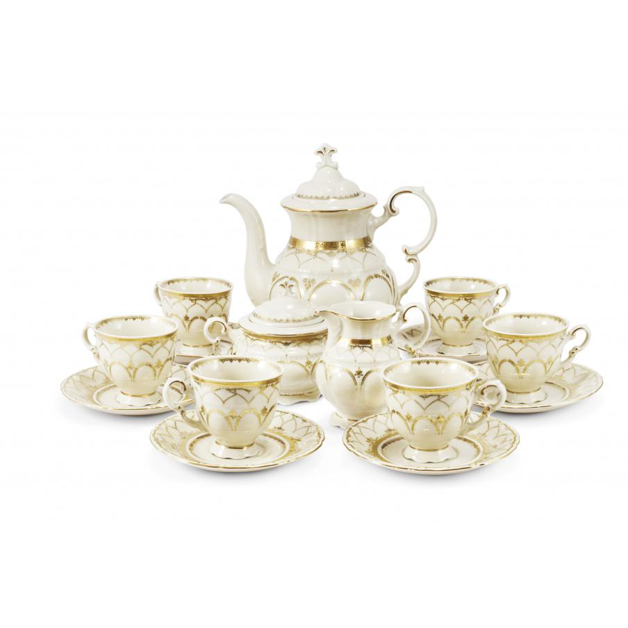 Coffee set 15-piece Wedding...