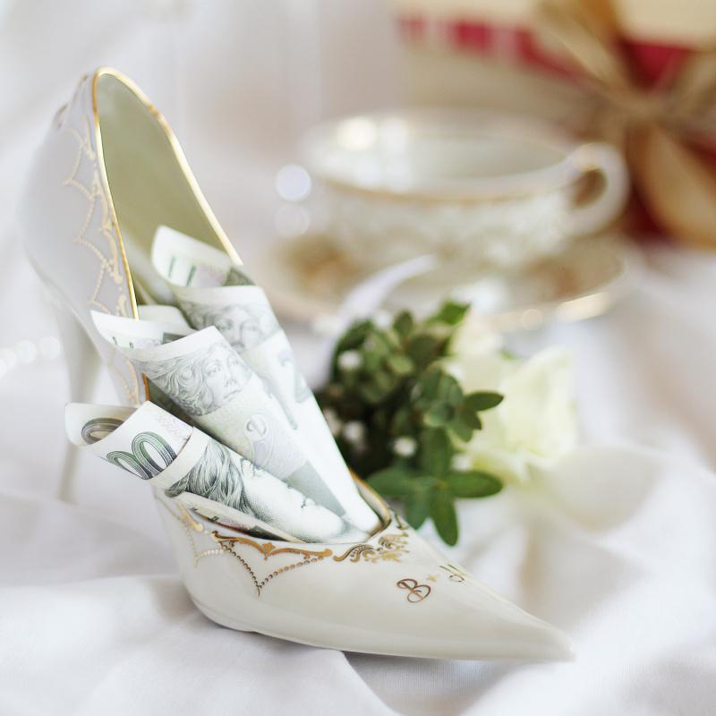 Dámská bota levá Svatební sonáta