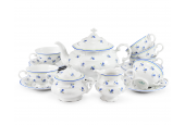 Tea set 15-piece Forget-me-nots