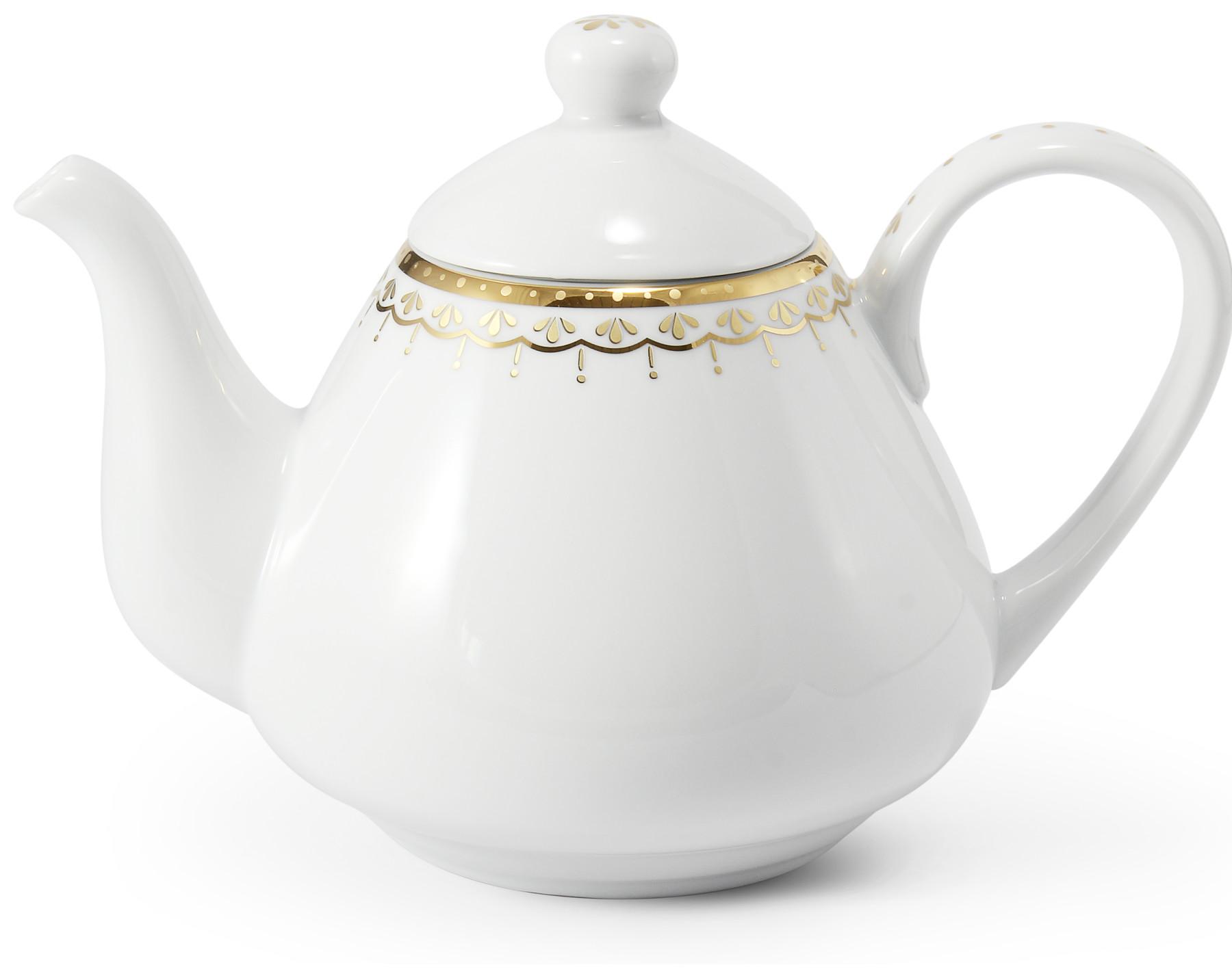 Tee/Kaffekanne 1,20 l HyggeLine Golden