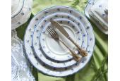 Speiseservice 25-teilig Vergissmeinnicht