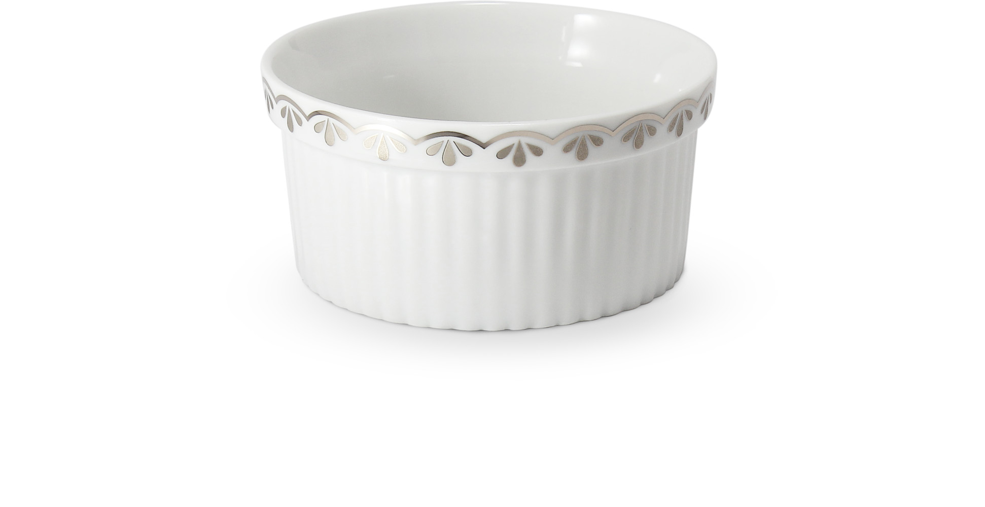 Baking bowl8.5 cm HyggeLine platinum
