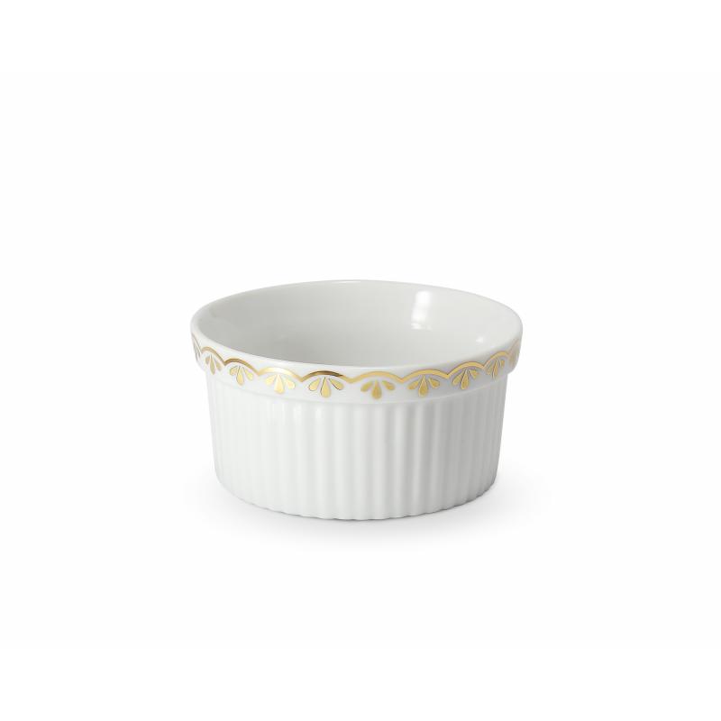 Baking bowl 8.5 cm HyggeLine gilded