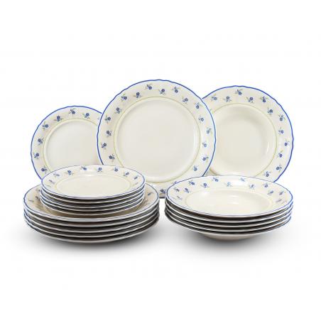 Plate set 18-piece...