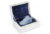 Botička k narození dítěte v dárkovém balení modrá