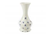 Vase 20 cm Vergissmeinnicht Elfenbein