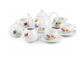 Tea set 11-piece Clearing of Loučky