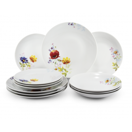 Plate set 12-piece Clearing...