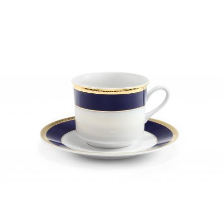 Cup and saucer Cobalt and...