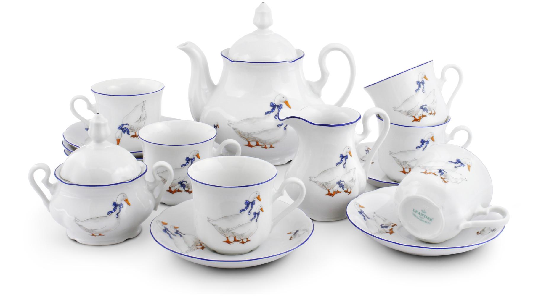 Tea set 15-piece - Geese
