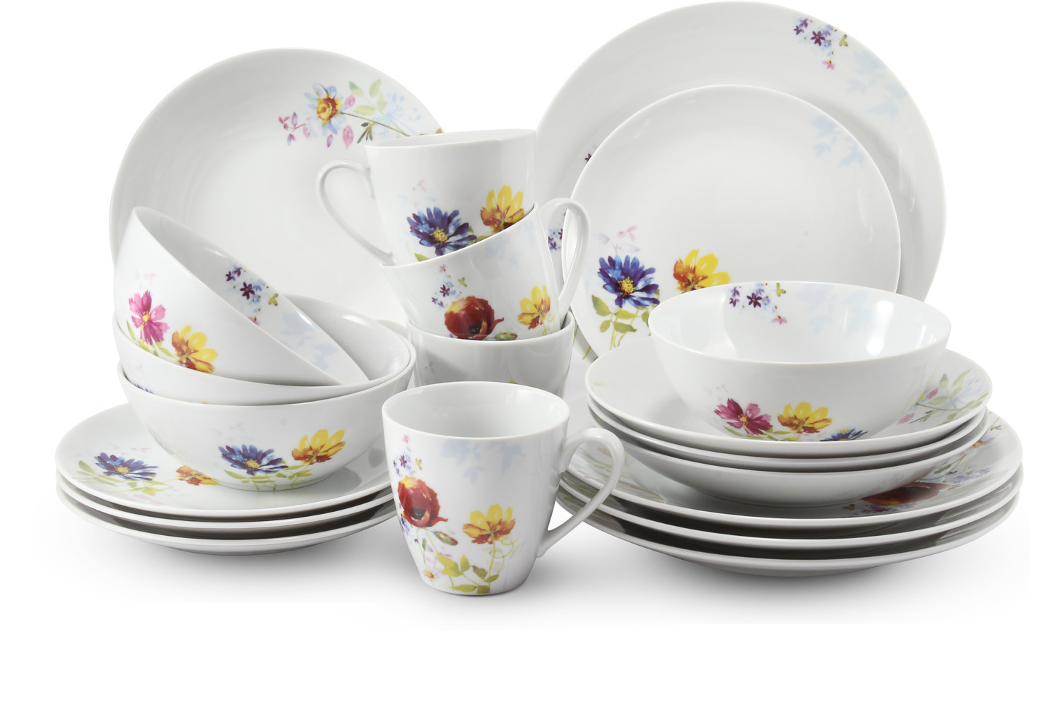 Dinner set 20-piece Clearing of Loučky