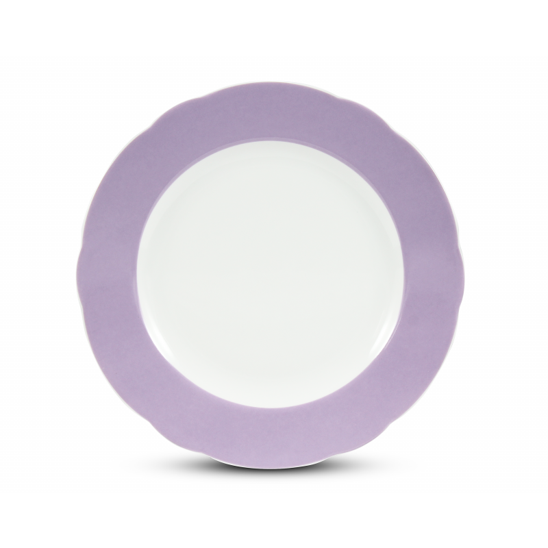 Speiseteller 25 cm Veilchen