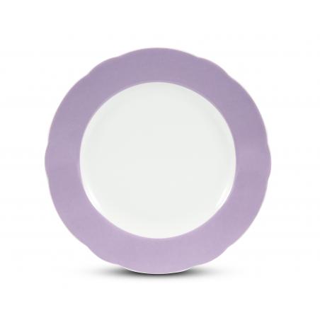 Plate shallow 25 cm Violets