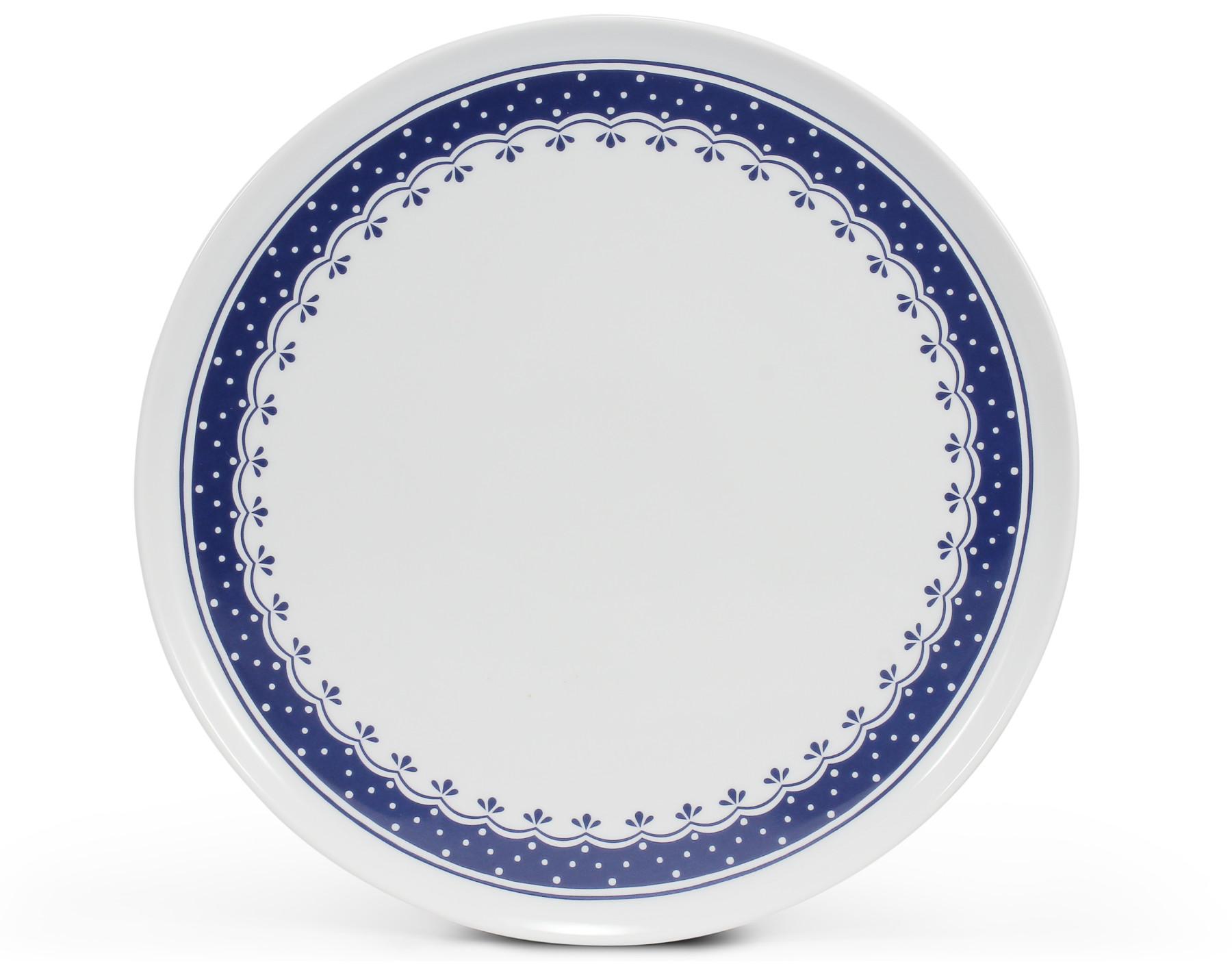 Dortový talíř 28 cm na nožce HyggeLine