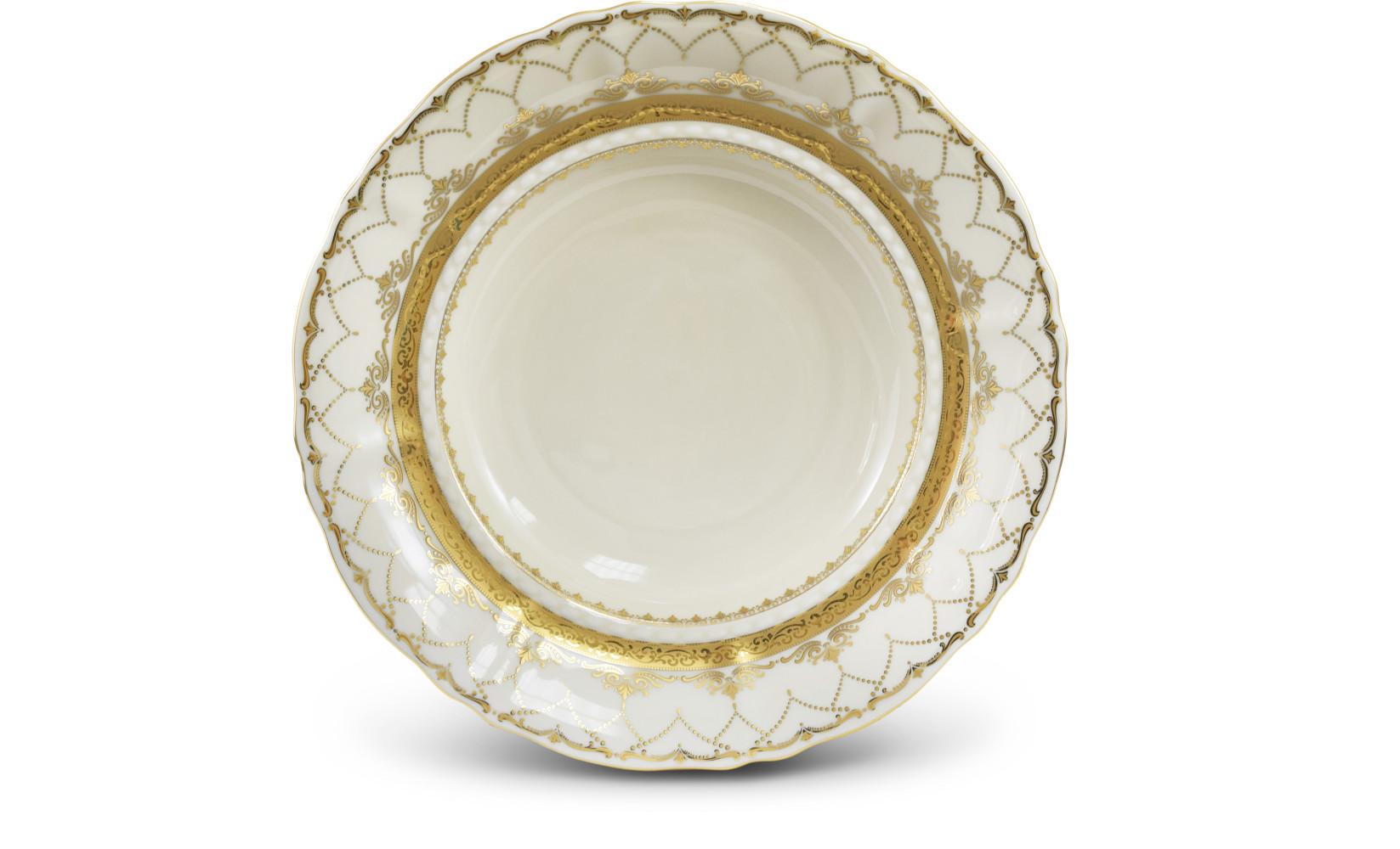 Dessert plate 19 cm Wedding sonata ivory