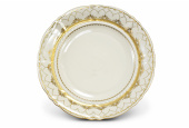 Plate shallow 25 cm Wedding sonata ivory