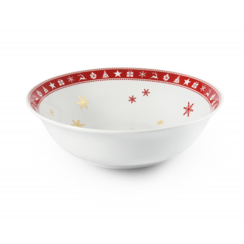 Fruit bowl 23 cm Christmas dreaming