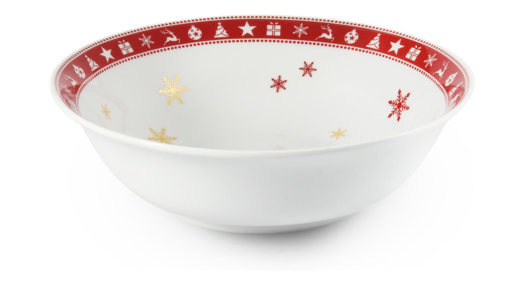 Mísa kompotová 23 cm Vánoční snění