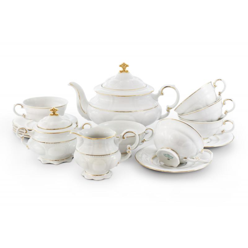 Tea set 15-piece - Golden line