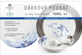 Gift voucher at the amount of CZK 1,000