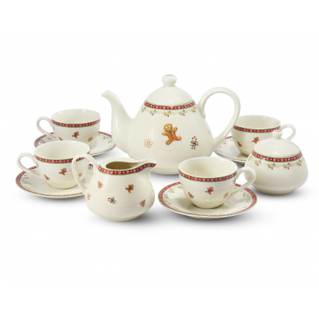 Tea set 11-piece...