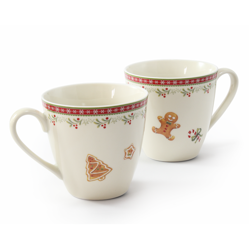 Set of cups 0.30 l Gingerbread cookies