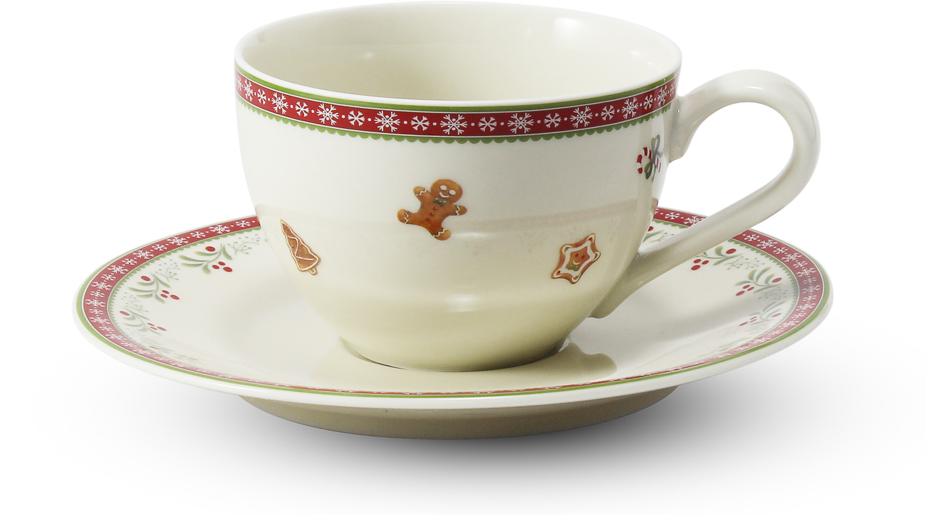 Cup and saucer 0.20 l Gingerbread cookies