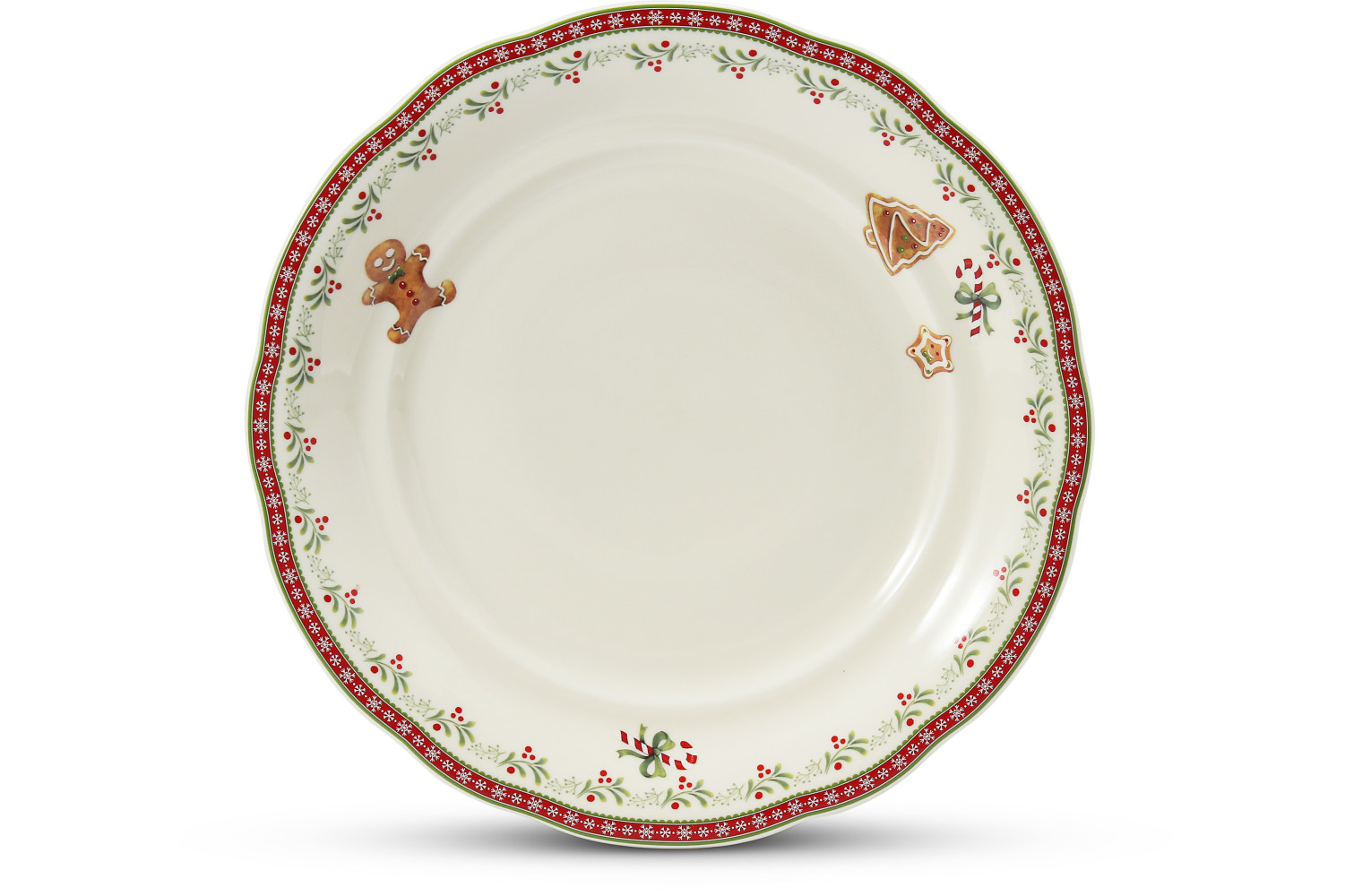 Plate shallow 25 cm Gingerbread cookies