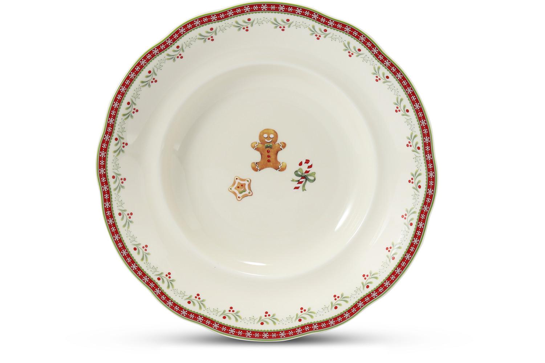 Soup plate 23 cm Gingerbread cookies