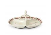 Kabarett 3-teilig 29,5 cm Weihnachtslebkuchen
