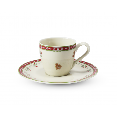 Cup and saucer 0.07 l-...