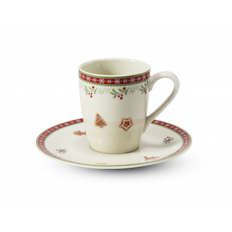 Cup and saucer 0.09 l-...
