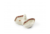 Salt cellar 2-piece 12 cm Gingerbread cookies