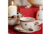 Teeservice 11-teiliges Weihnachtslebkuchen